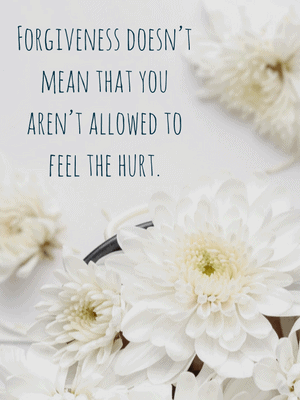 It's okay to hurt