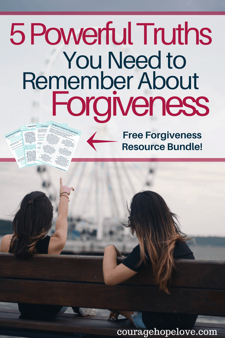 Forgiveness is possible. But it isn't easy. Learning how to forgive is a process and it is important to remember these 5 powerful truths.