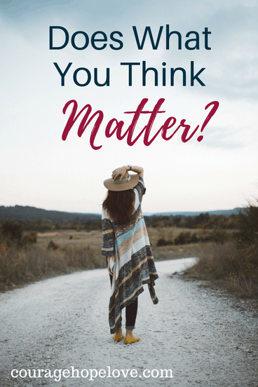 Does What You Think Matter?