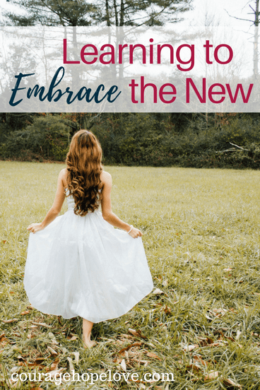 Learning to Embrace the New