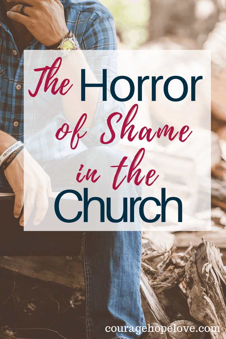 The Horror of Shame in the Church {Plus a GIVEAWAY}
