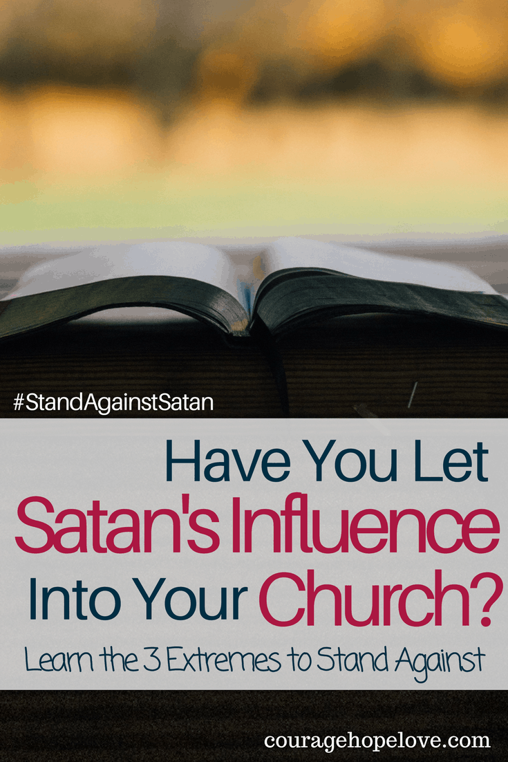 Have you Let Satan's Influence Into Your Church-