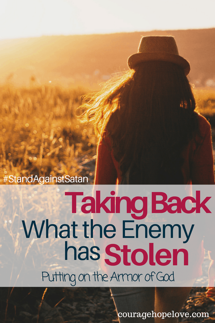 Taking Back What the Enemy has Stolen