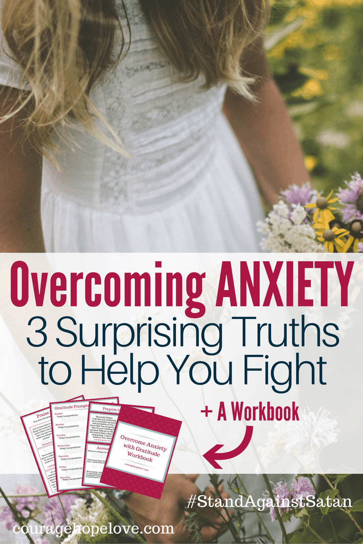 Overcoming anxiety is possible. Satan wants to convince you of these 3 lies. But it's time to take a stand against Satan and learn the truth to overcome.