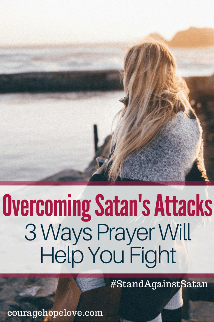 Have you ever struggled in overcoming Satan's attacks on your mind or your life? Prayer is powerful in taking a stand against Satan. Read to learn how.