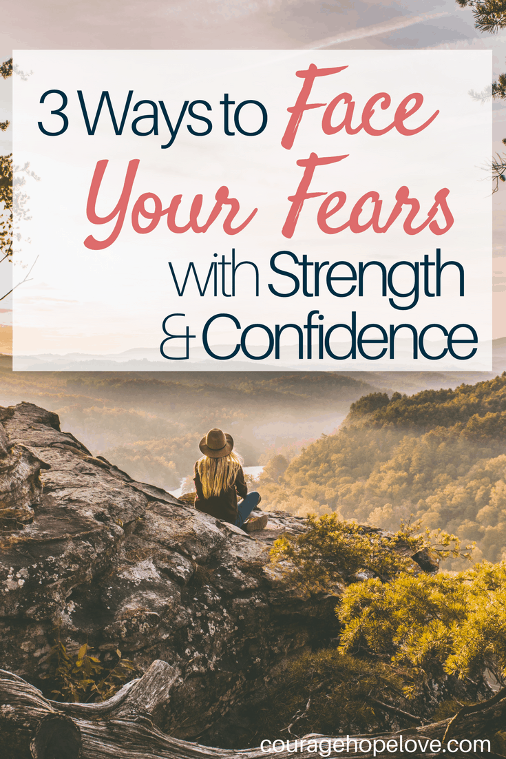 Sometimes God asks us to walk a path that we fear. It isn't easy, but you can face your fears with strength and confidence. These 3 things are essential to overcoming your fears and boldly following God's call..