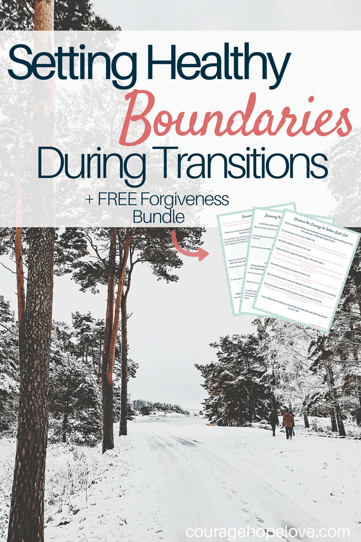 Setting Health Boundaries During Transitions
