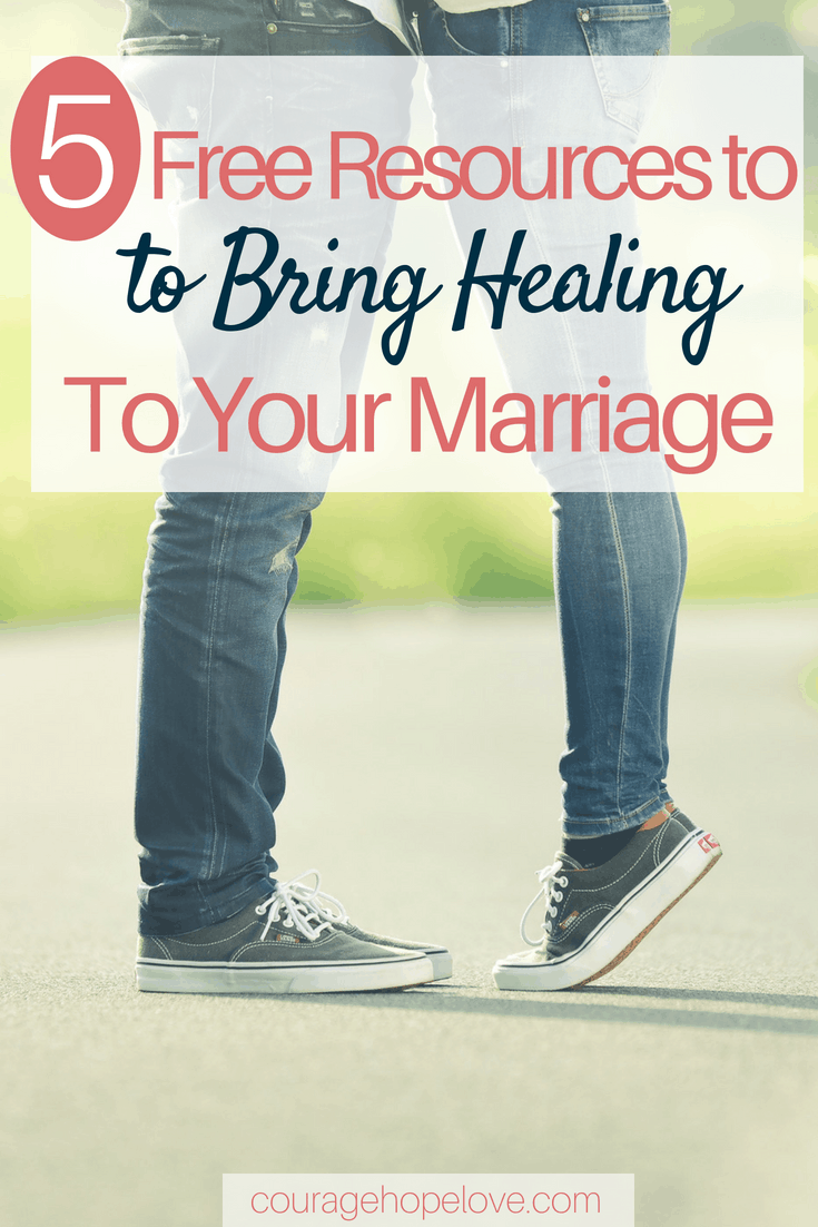 5 Free Resources to Bring Healing to Your Marriage
