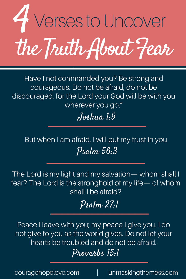 7 Bible Verses to Uncover the Truth About Fear