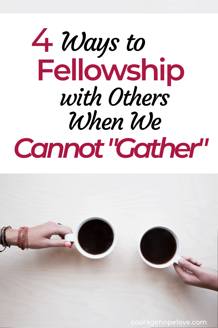 """4 Ways to Connect Spiritually with Others When We Cannot """"Gather"""""""